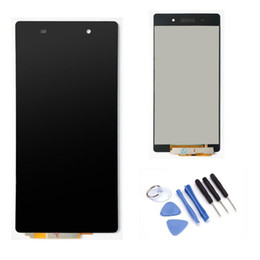 Wholesale lcd oem For Sony Xperia Z2 D6502 D6503 D6543 LCD Screen Display Digitizer Assembly tested original Tool Kits