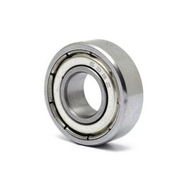 Wholesale Brand New PC ZZ Miniature Thin Deep Groove Ball Bearings Steel Metal Shields x19x6mm Best Promotion