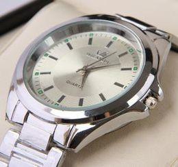Wholesale fashion watches Men s fashion simple atmospheric steel strip quartz watch