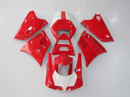 Injection Fairings for Ducati 996 748 998 1996-2002 748 996 998 1996 1997 1998 1999 2000 2001 2002 ABS Plastic Fairing Kits White Red