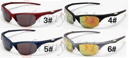 Descuento marcos libres Gafas de sol de los hombres clásicos del estilo de la nueva llegada del envío libre 10pcs Gafas de sol del marco negro mate elegante de las gafas de sol nueva lente gris de acrílico