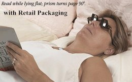 Wholesale with Retail Pack Creative Lazy Glasses Anti cervical Spondylosis Mirror Glasses Periscope Prism Spectacles Lying Down to Watch TV Read books