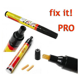 Wholesale 100pcs Fix it PRO Painting Pen Car Scratch remover pen Repair for Simoniz clear coat applicator