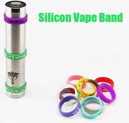 E cigarrillo caliente accesorios banda de silicio banda de vapor para mods mecánico niño pequeño doge oscuro caballo ruso 91% igo w 3 v2 rda desde silicio w proveedores