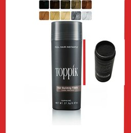 Wholesale OEM Private Label Toppik Hair Keratin Fiber Building Thinning Loss Thickening Hair Powder Regrowth g colors