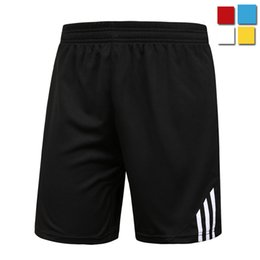 Hot sell 2016 outdoor sport gym simple classic football soccer fitness shorts men sports stretch training bodybuilding shorts