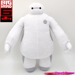 Wholesale New Favorite CM Super Marines Big Hero Baymax toys White Plush Toy Baby Warm Man Doll Fit all Age Children love toys D068