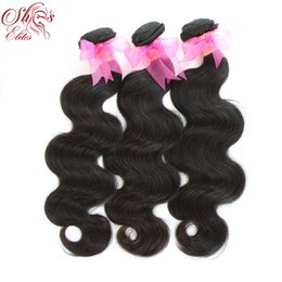 Wholesale 15 OFF DHL Brazilian Virgin Remy Human Hairs Body Wave Weft Weave Elites Hair Queen Hair products g pc