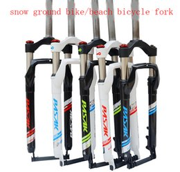 Wholesale Bicycle Parts Bicycle Fork snow ground bike beach bicycle fork super light aluminium alloy sand bike fork fat bike rigid forkS Beach