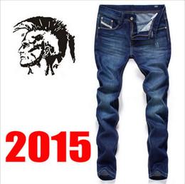 Wholesale Famous brand men fashion jeans New Arrival Cotton trousers Retail Dark Vintage Jeans men pants for male