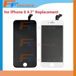 """Part entière en Ligne-Hot Selling pour iPhone 6 4.7 """"pouces écran LCD écran tactile numériseur Full Assembly noir blanc Pièces de rechange Facotry Prix"""