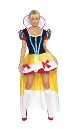 Jeu deluxe edition en Ligne-Deluxe Edition Snow White Halloween uniformes de jeu costume de rôle tentation fée costume