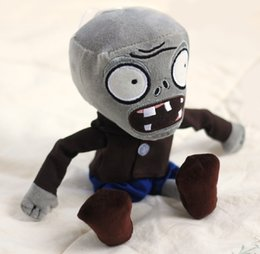 Plants vs Zombies Series Plush Toy - Grey Zombie 40CM (Large Size)