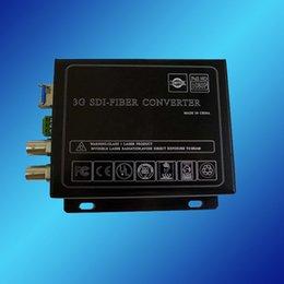 Wholesale 3G HD SD SDI Video to Optic Media Converter SDI Video over Fiber Transceiver km Single Fiber Single Mode