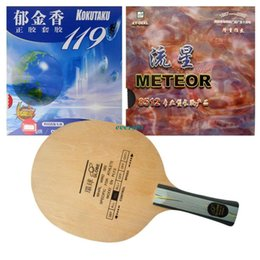 Wholesale Pro Table Tennis PingPong Combo Racket Globe with Meteor Def Version Kokutaku