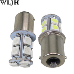 Wholesale Automotive led S25 SMD Led Bulb V brake tail light car led Lighting indicator lights Stop Light Auto Lamp Bulb