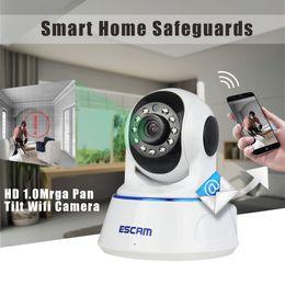 Promotion dôme intérieur caméras ip HD 720P Mini P / T Infrarouge Dôme Intérieur IP sans fil de soutien Caméra 32G Carte TF / Détection de mouvement SUR_131
