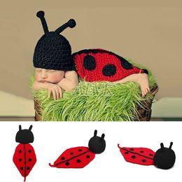 Descuento cute baby accesorios de fotografía ganchillo sombrero caliente del traje traje de la fotografía trajes de bebé recién nacido apoyo de la foto del Knit apoyos muti-color de lindo gorras populares B26 SV007054