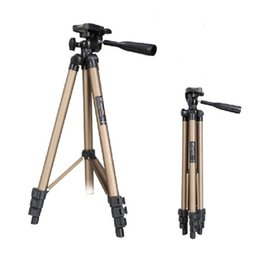 Wholesale WEIFENG WT3130 Pro Digital Camera Tripod Portable Extendable Tripod Stand Adjustable For Canon Camera DLP Mini Projector High Quality