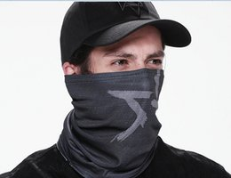 Wholesale Watch Dogs Aiden Pearce Cap Scarf Face Mask Set Cosplay Game Costume Cap