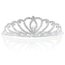 Top Quality Free Shipping Bling Queen Crowns Wedding Bridal Tiaras Jewelry Crystal Hair Ornaments Charming Hair Accessories DL11269