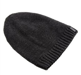 2015 Bonnet en tricot de la couleur unie des nouveaux hommes d'hiver de chapeau de chapeau chapeau chaud d'épaisseur de chapeau de la laine de mode de style européen AL M5 à partir de la mode en plein air européen fabricateur