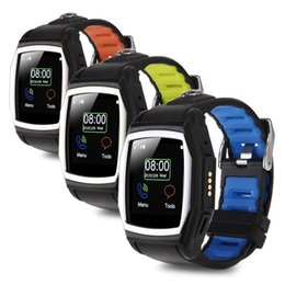 Wholesale US Stock Waterproof GT68 quot Bluetooth Smart Watch Phone Compass GPS NFC For Android iPhone