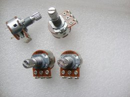 Wholesale 148 potentiometer with switch B504 B500k lamp dimmer switch speed switch potentiometer