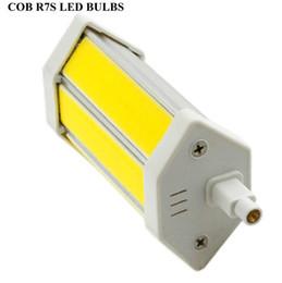 Wholesale Sportlight R7s w w w mm mm mm V COB led bulbs tungsten tube tubes led lamp r7 lights bright corn lamp led