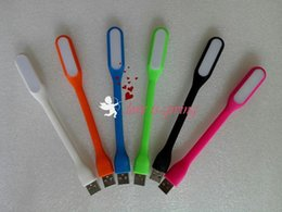 Wholesale Xiaomi Portable USB LED Light Flexible Silicone Color USB Lamp For Power Bank Computer v w LED The new cheap