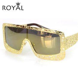 Wholesale-High Quality vintage Square oversized sunglasses women brand designer Shades fashion glasses men sunglasses ss381