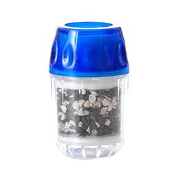 Wholesale Activated Carbon Tap Water Purifier Use For Kitchen Faucet Tap Water Filter Purifier Blue JI0043 smileseller