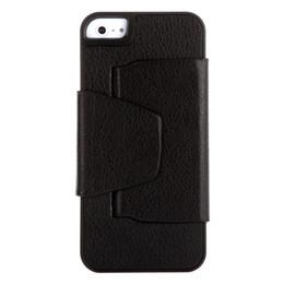 Al por mayor-ultrafino Mini Teclado Bluetooth V3.0 inalámbrico con cubierta protectora de la caja de cuero para el iPhone 5 Negro desde caso de cuero del teclado del iphone fabricantes