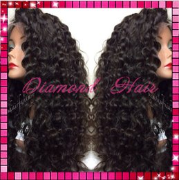 Brazilian virgin remy human hair glueless kinky curly full lace wigs high density with baby hair for black women free shipping