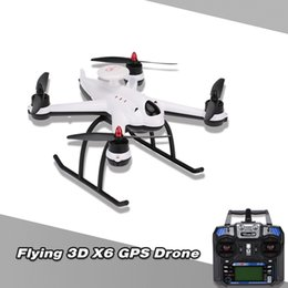 Wholesale Original Flying D X6 Axis G RC Quadcopter RTF RC Toys AOC GPS Hold One Key Home Failsafe Landing RM4277