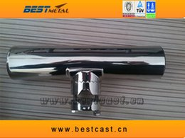 Wholesale stainless steel fishing rod holder of marine hardware for boat and yacht fishing