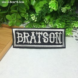Free Shipping~10pcs Lot English fashion Iron On Embroidered Patch Appliques DIY bag clothing patches Applique Badges