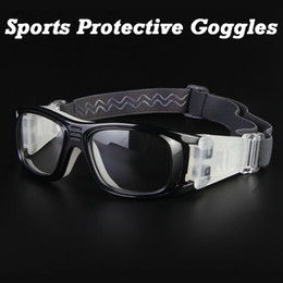 Wholesale-FREE SHIPPING Basketball Soccer Football Sports Protective Eyewear Goggles Eye Safety Glasses Sport Dribbling Glasses