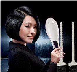 2015 Secador de Pelo Popular peine Straight Hair Styling Tool Digital Controlador de Temperatura Home Uso Enderezamiento de Planchas desde inicio peinado del cabello fabricantes