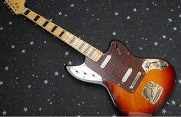 Wholesale new hot sell American Vintage Jaguar squier jag master Sunburst Solid body electric guitar