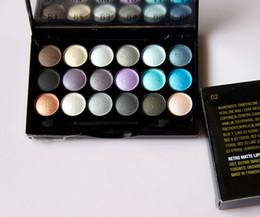 Wholesale-TOP Quality 18 Color Professional nude eyeshadow palette makeup MC matte Pigment Eye Shadow palette Make Up Glitter eyeshadow