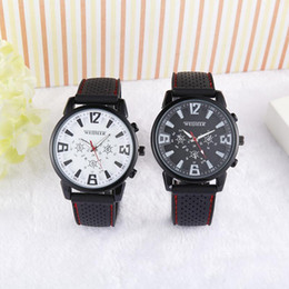 Weijieer watch Cool Black for Military Pilot Aviator Army Style Silicone For Watches Men Boy Luxury Analog Outdoor Sport Racing Wrist Watch