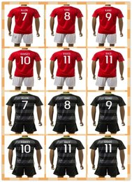 Wholesale Top Fast Uniforms Kit Wales RAMSEY BALE GIGGS ALLEN KING Red Yellow Black Soccer Jersey full Shirt futbol Jerseys
