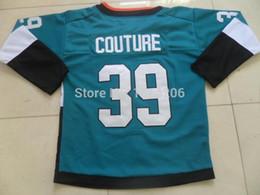 Logan Couture Jersey 2015 Sharks Stadium Series Jersey San Jose Sharks Jersey Teal
