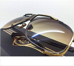 Promotion le sport pc ! Gros-HOT Livraison gratuite DITA CASCAIS Lunettes de soleil de la nouvelle conception avec le paquet original en noir - SHINY OR 18K