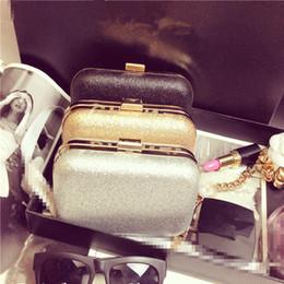Chain bag women s handbag en Ligne-Vente en gros-La tendance de la mode de paillettes d'or dîner petits sacs clip sac sac de la boîte sac à main de la chaîne des femmes