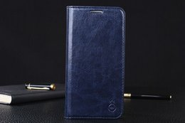 Luxurious Holster Genuine Leather Cases For Galaxy S7 Edge Samsung S6 S5 Stand Cover Wallet Card Holder Flip Case Cover Mobile Phone S6 Edge