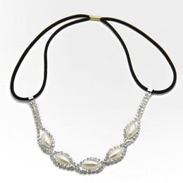Pearl Jewelry Crystal Hairband Head Chain Hair Accessories Jewelry CF137