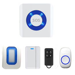 Wholesale Wireless Smart Doorbell Home Security WIFI Smart Enabled Cloud Monitor Alarm System Push Button For iPhone Android IOS System Mobile