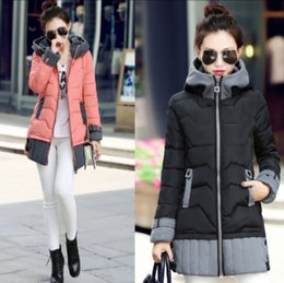 Wholesale Cotton padded clothes more female han edition new women s winter coat big yards down jacket in the lady s long winter jacket color